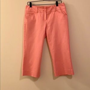 New York & Company Pink Cropped Pants